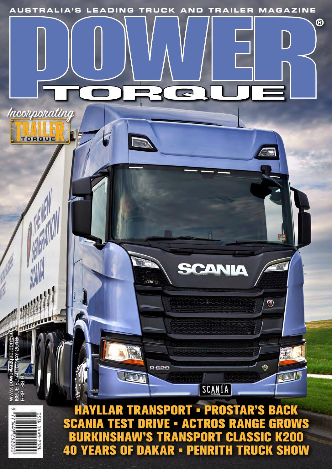 POWERTORQUE MAGAZINE ISSUE #83 APRIL/MAY 2018 by Motoring