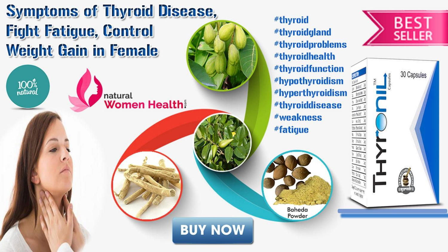 Symptoms Of Thyroid Disease Fight Fatigue Control Weight Gain In