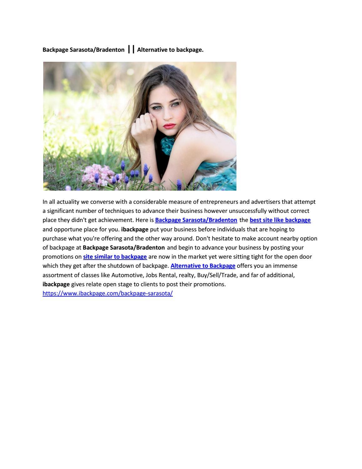 Backpage Sarasota/Bradenton is Sites like backpage. by