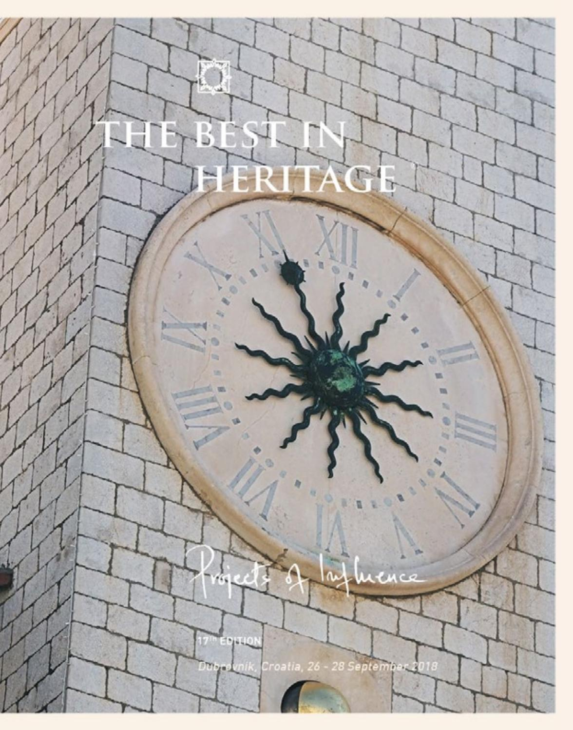 The Best in Heritage 2018 by Best in Heritage - issuu