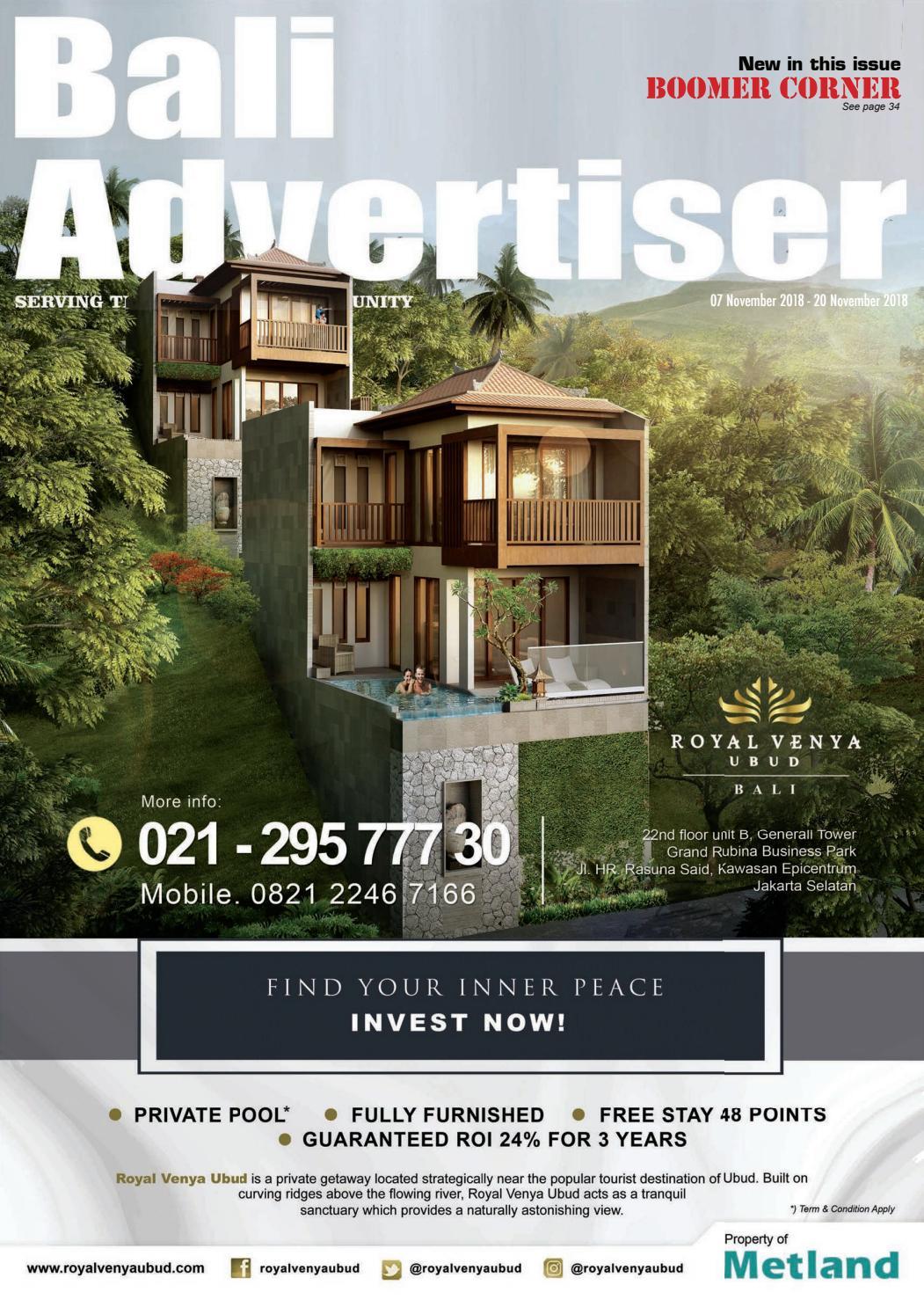 BA_07 November 2018 by Bali Advertiser - issuu