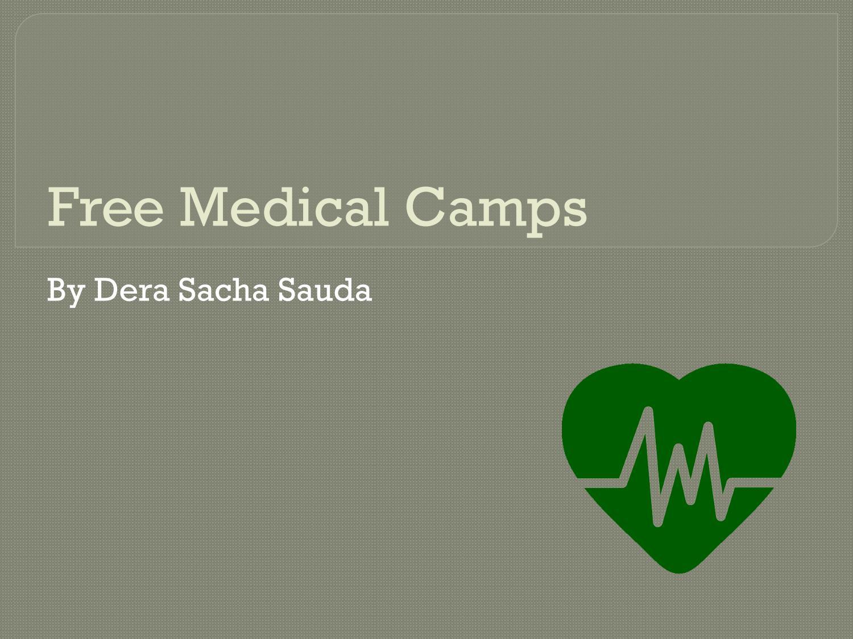 Free Medical Camps by Dera Sacha Sauda by sandeep insan - issuu