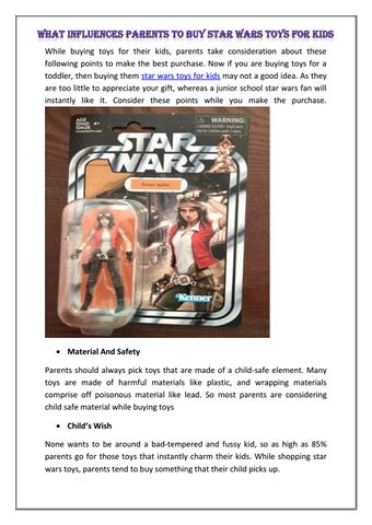 Star wars toys for kids by toysbus - issuu