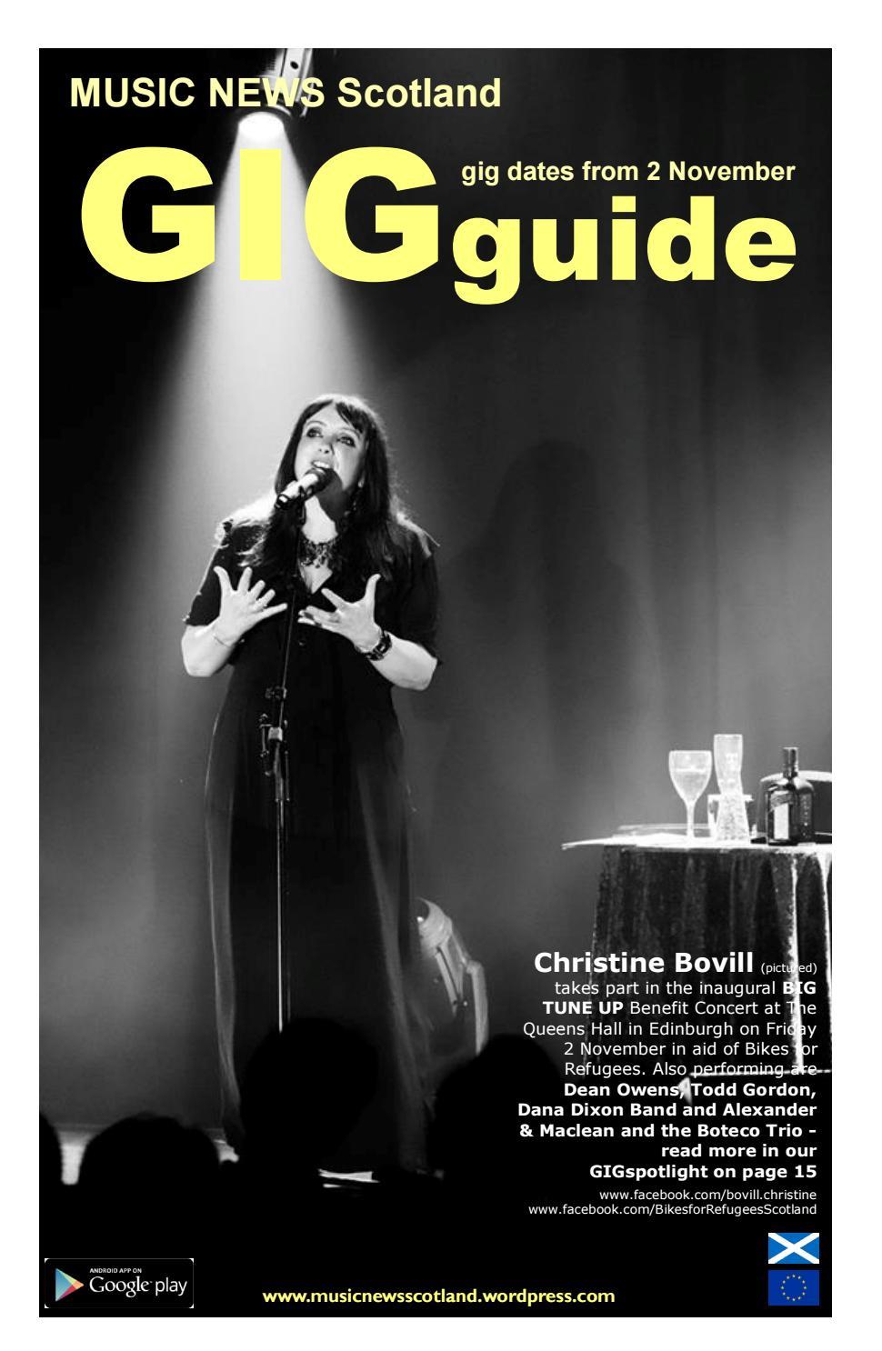 MNS GIGguide by MUSIC NEWS Scotland - issuu