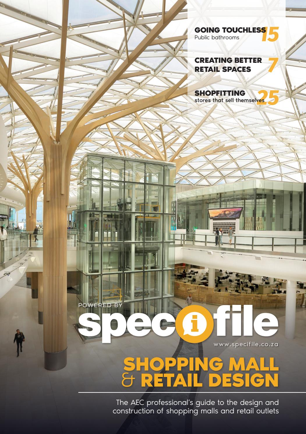 Shopping Mall & Retail Design Powered by Specifile by New Media B2B