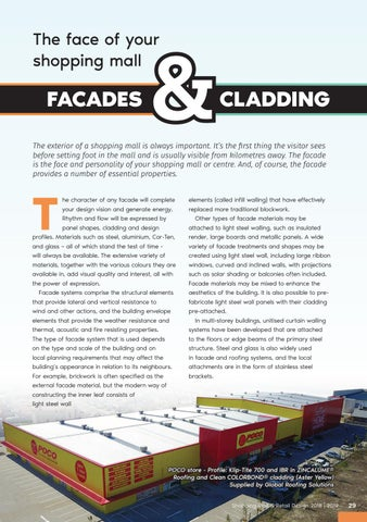 Page 29 of The Face of your Shopping Mall: Facades & Cladding