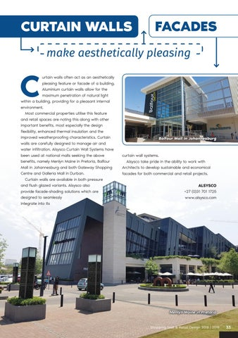 Page 33 of Curtain Walls Make Aesthetically Pleasing Facades