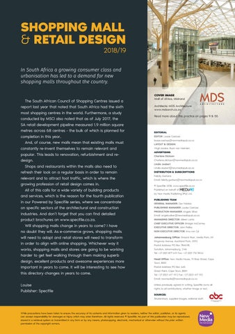 Page 3 of Foreword: Shopping Mall & Retail Design