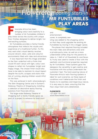 Page 44 of Flowcrete flooring stars in Mr Funtubbles Play Areas