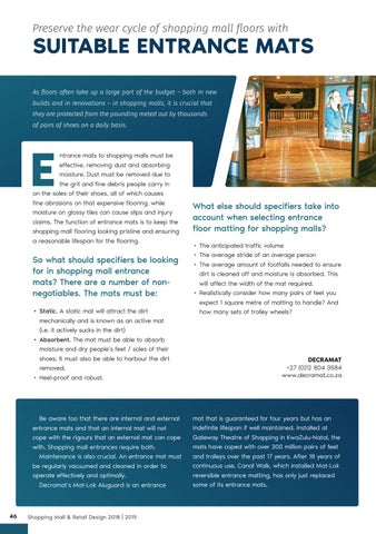 Page 46 of Flooring Solutions for Heavy-Traffic Commercial Spaces