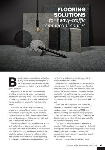 Page 47 of Flooring Solutions for Heavy-Traffic Commercial Spaces