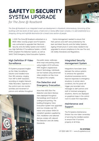 Page 66 of Safety & Security System Upgrade for The Zone @ Rosebank