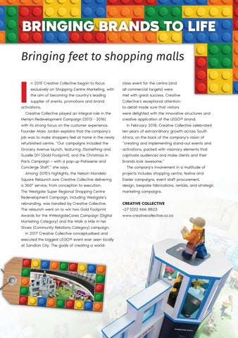Page 81 of Bringing Brands To Life. Bringing Feet to Shopping Malls