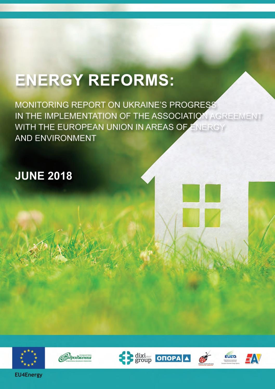 Energy Reforms: June 2018 review by Ukrainian Energy - issuu