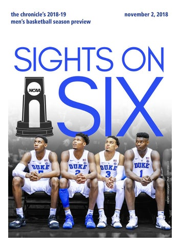Men s ACC Basketball Preview 2018 by Duke Chronicle - issuu 7c7d8f6e7