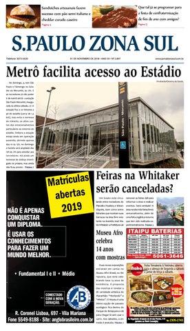 c588f826d 02 de novembro de 2018 - Jornal São Paulo Zona Sul by Jornal Zona ...