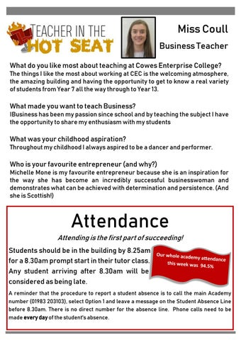 Page 3 of Important information regarding admissions & DofE Cookery Skills