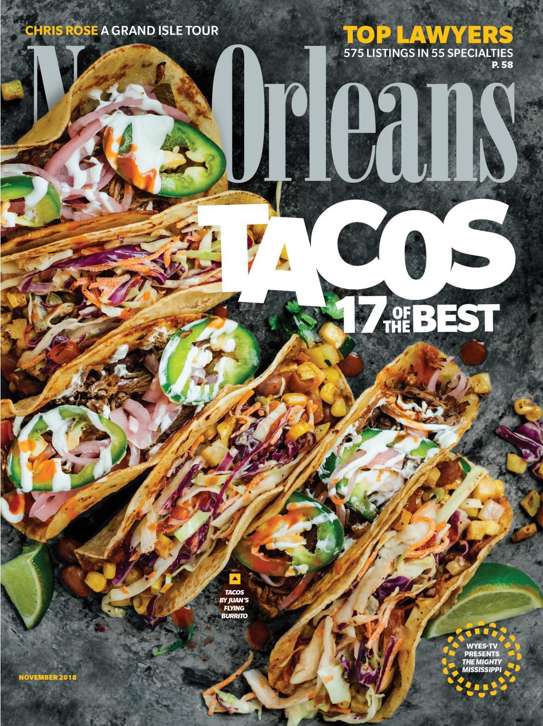 87fb73cb7cc New Orleans Magazine November 2018 by Renaissance Publishing - issuu