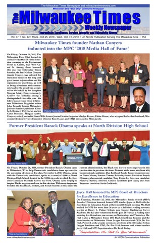 3cf27e06956 Miltimes 11-01-18 issue 20 pgs by Milwaukee Times News - issuu