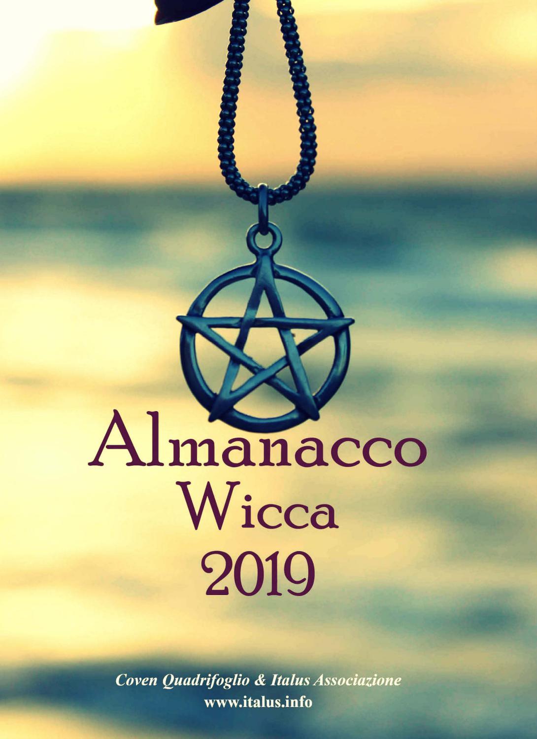 Calendario Esoterico.Almanacco Wicca 2019 By Italus Edizioni Issuu