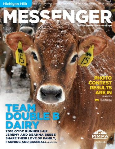 Michigan Milk Messenger: November 2018 by Michigan Milk