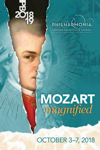 PBO 2018 19 Program Book - OCTOBER Mozart Magnified by Philharmonia ... 6815cc2c519