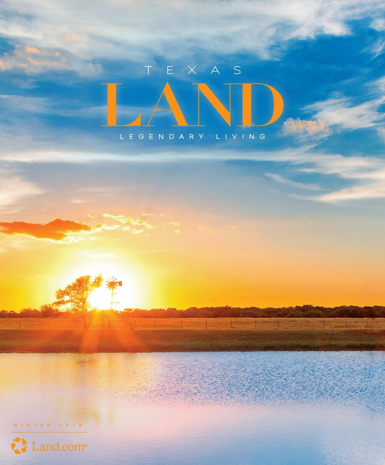 texas land winter 2018 by land magazines issuutexas land winter 2018