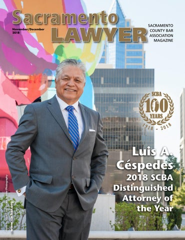 Sacramento Lawyer Magazine November/December 2018 by