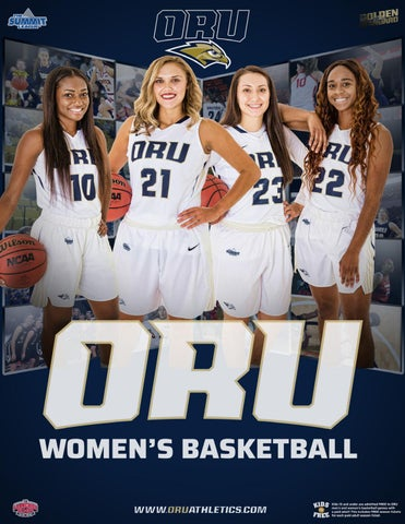 8f79bc63a355 ORU Women s Basketball 2018-19 Media Guide by ORU Athletics - issuu