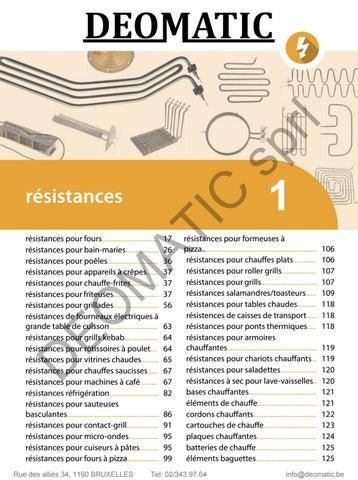 Electrolux 056782 élément de chauffage Salamandre Grill 2000 W 230 V alpeninox ZANUSSI