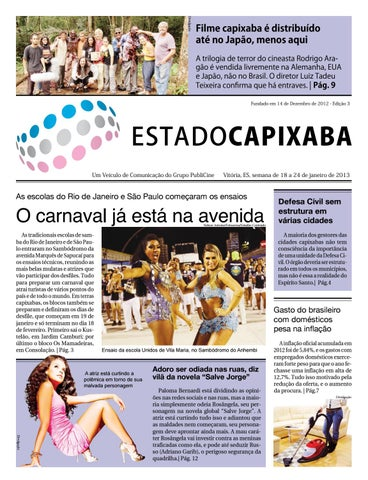 7298c194d9c3 Jornal Estado Capixaba nº 3 by Portal Academia do Samba - issuu