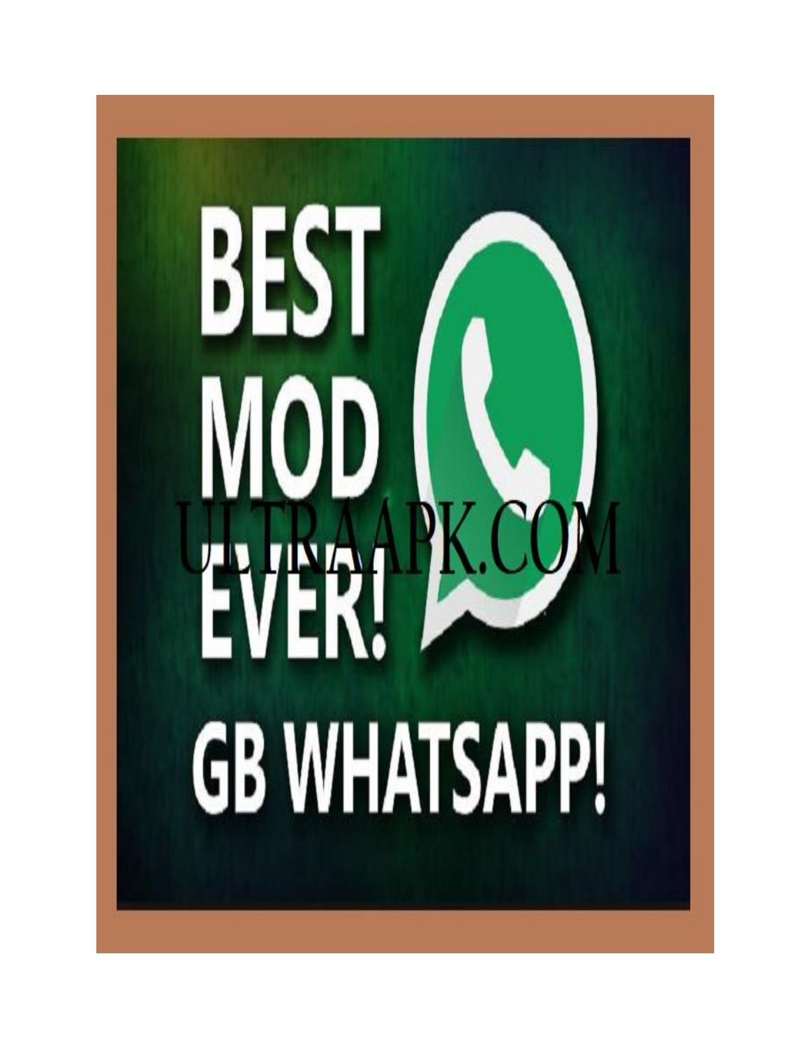 GBWhatsapp APK Free Download for Android & IOS by Ultra APK