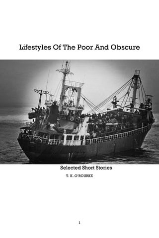 4ef0a89bbd1f Lifestyles of the Poor and Obscure by Mike Finley | Kraken Press - issuu