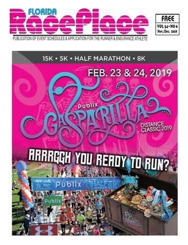 Florida RacePlace Nov-Dec 2018 by Florida RacePlace Magazine