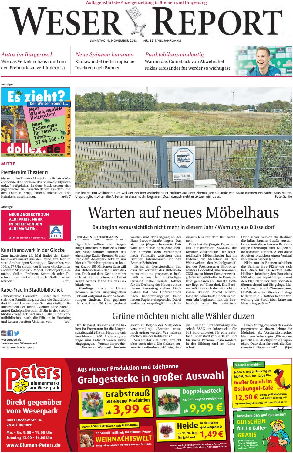 Weser Report Mitte vom 04.11.2018 by KPS