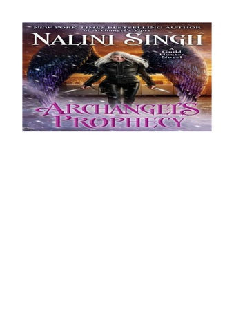 Archangel´s prophecy guild hunter 11 (english ) by Leticia Santanna