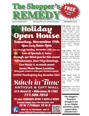 Shopper S Remedy November 2018 By Robin Noll Issuu
