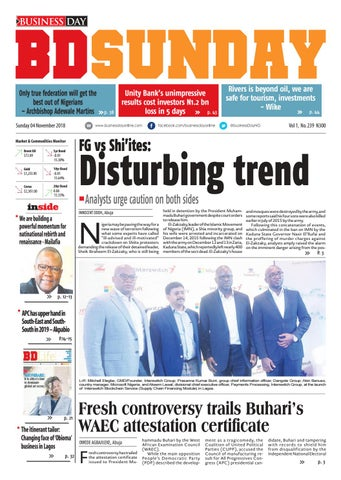 BusinessDay 04 Nov 2018 by BusinessDay - issuu 432f1d769d9