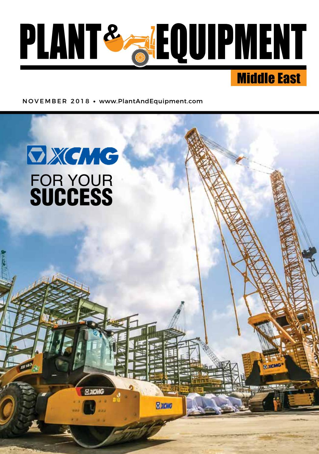 55bfb578d Plant & Equipment | Middle East | November 2018 Edition by Plant And  Equipment - issuu