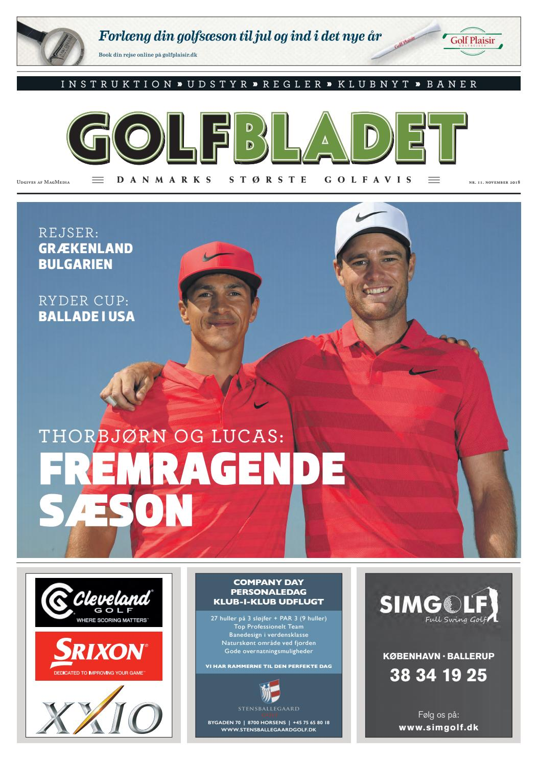 43156caf520e GOLFBLADET November 2018 by Morten Buckhøj - issuu
