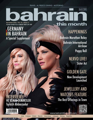 Bahrain This Month - November 2018 by Red House Marketing