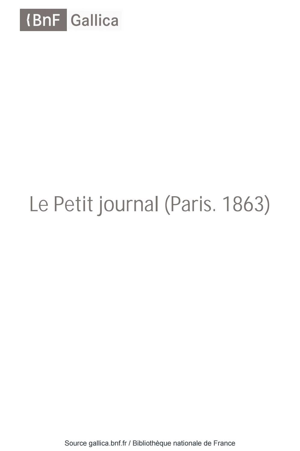 Le Petit Journal 02051930 By Président Aaleme Issuu