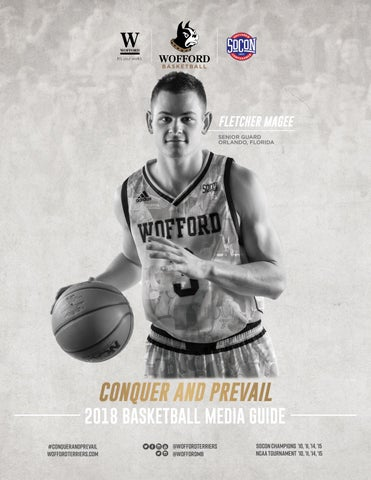 2018 19 Wofford Men S Basketball Media Guide By Wofford Athletics Issuu