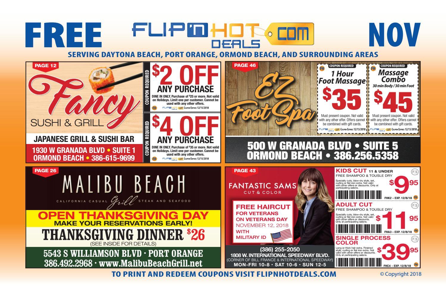 Flip Nhot Deals Coupon Book November