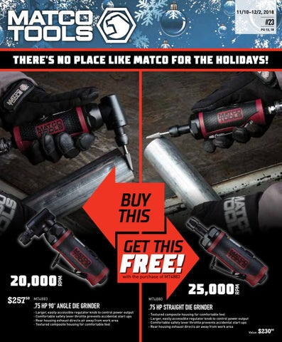 Specials – 11/10-12/2 !! by Elwoods Tools - issuu