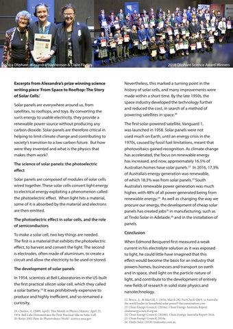 Page 13 of Alexandra wins prestigious Oliphant Science Award