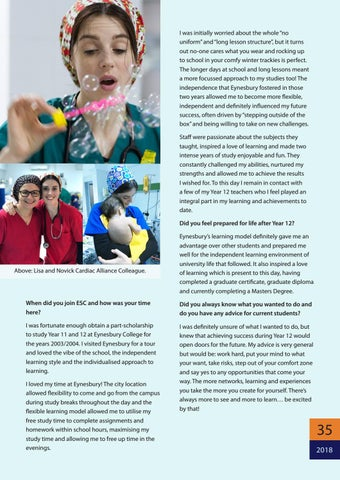 Page 35 of Travelling the world with Nursing - Lisa Altman