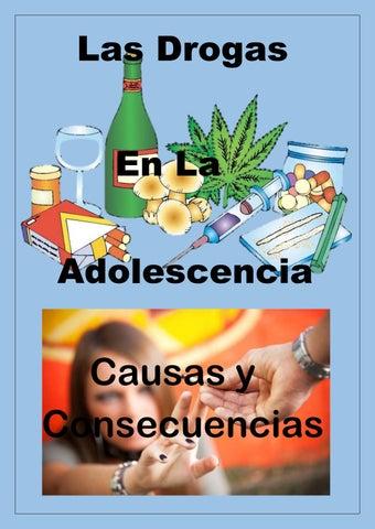 drogas concepto causas y consecuencias