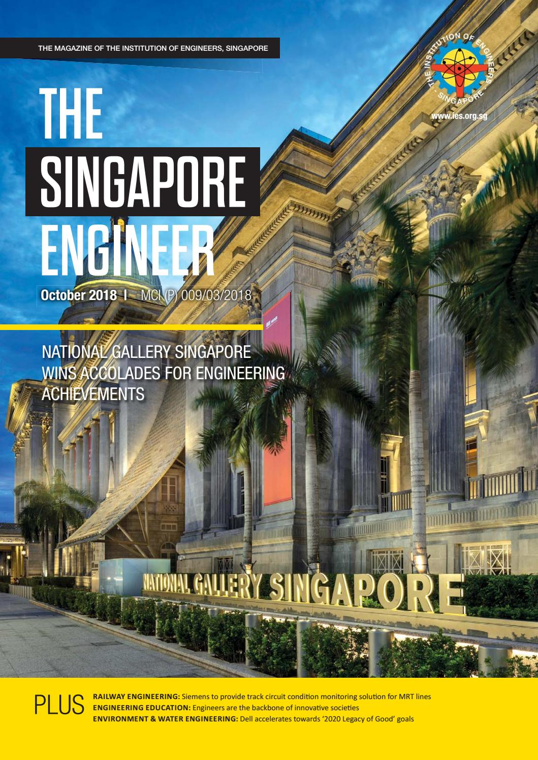 The Singapore Engineer October 2018 by The Singapore Engineer - issuu