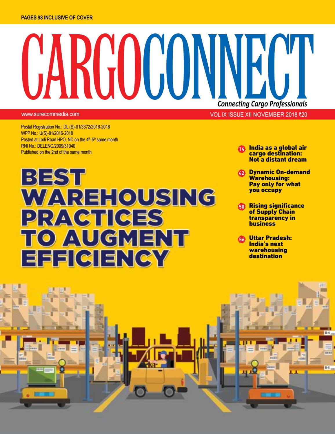 8d8bb8181 CARGOCONNECT November issue 2018 by Surecom Media - issuu